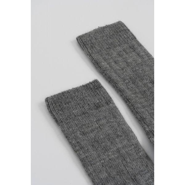 Lamswollen sokken