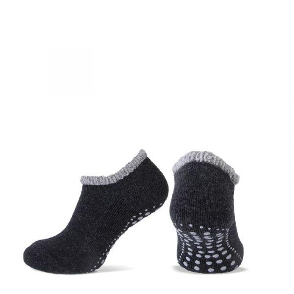Antislip wollen pantoffel sokken
