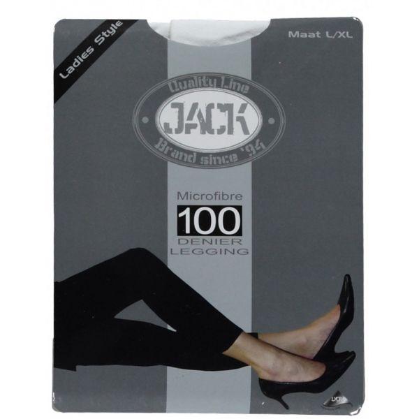 100 denier legging van microfiber