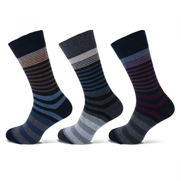 Teckel | herensokken met strepen | sokken-online.nl