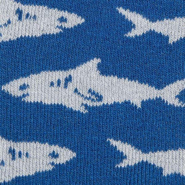 Antislip kindersokken met haaien print