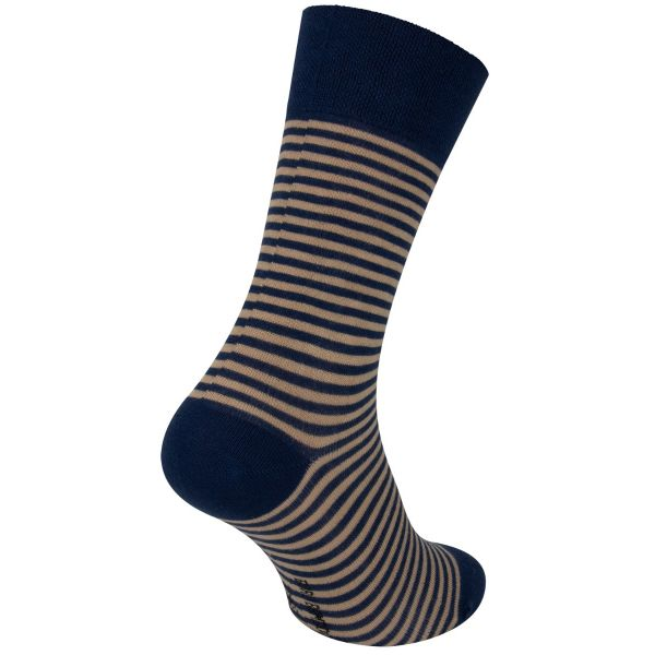 Bamboe sokken met smalle strepen motief