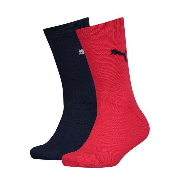 PUMA EASY RIDER JR 2P blue/red | sokken online