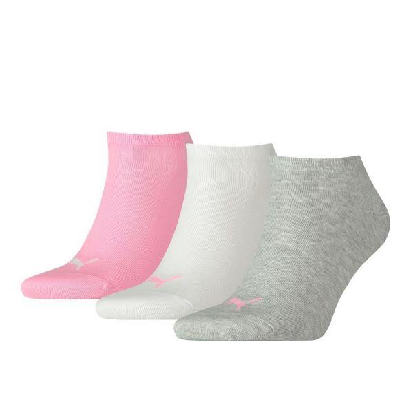 Unisex sneaker plain 3 pack