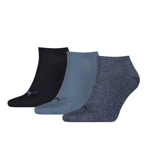 PUMA unisex sneaker plain 3-pack | sokken -online