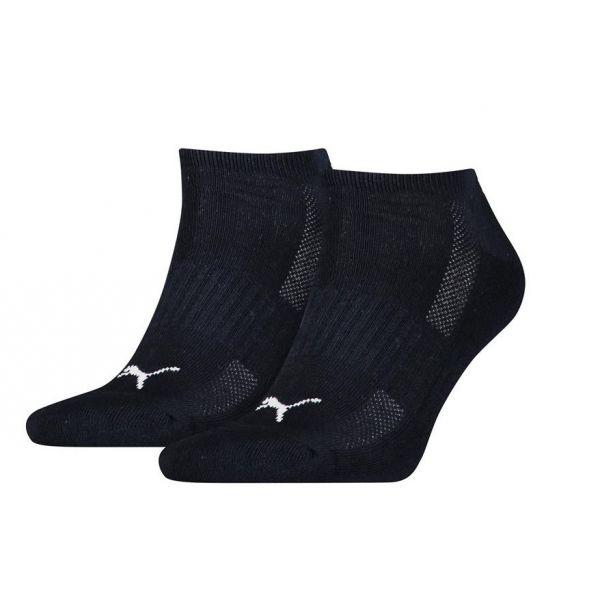 Puma Cushioned sneaker 2-Pack black |sokken online
