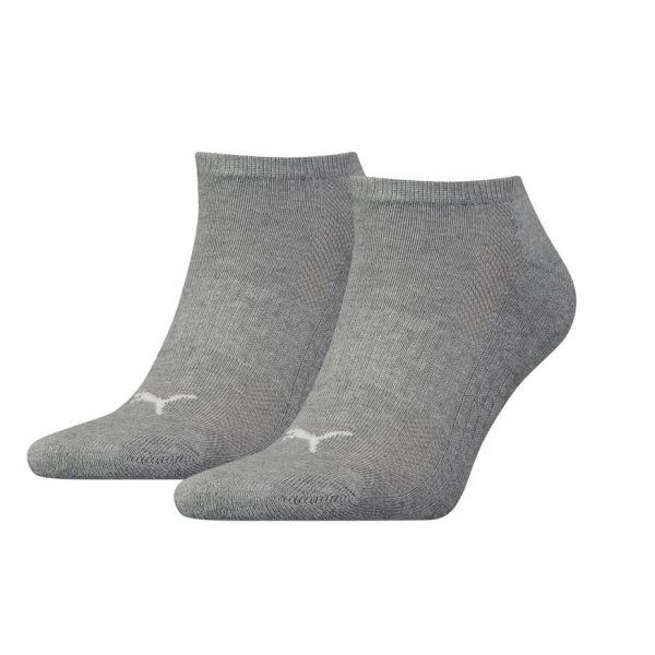 Puma Cushioned sneaker 2-Pack grey |sokken online