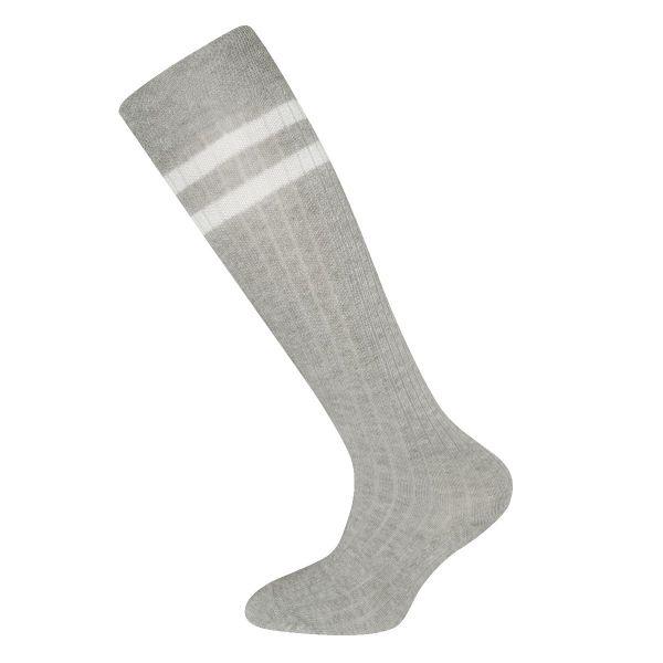 Ewers Kniekousen met rib motief 2 strepen | sokken online