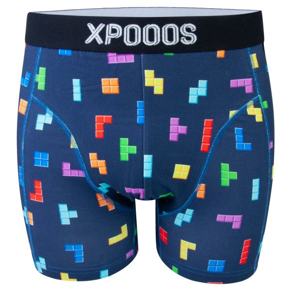 Boxershort met tetris print