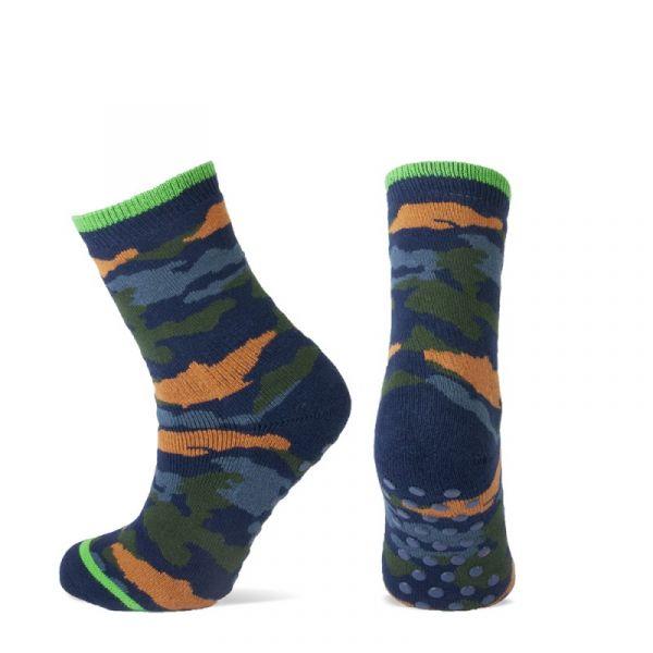 8603 Homepads YM camouflage per maat antislip sokken camouflage
