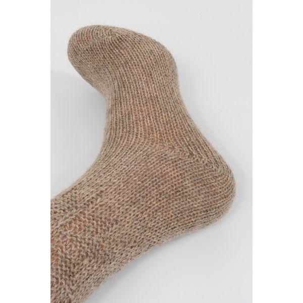 Alpaca wollen sokken met noors motief