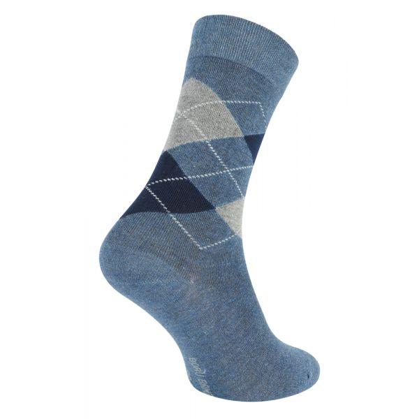 Bamboe sokken met ruiten motief