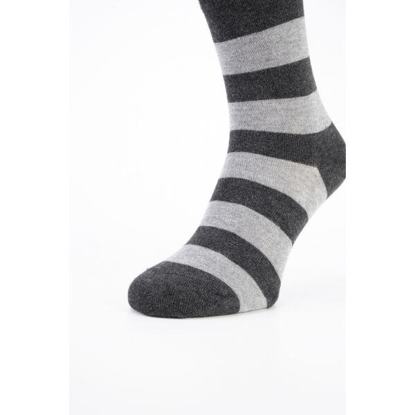 Bamboe sokken met strepen
