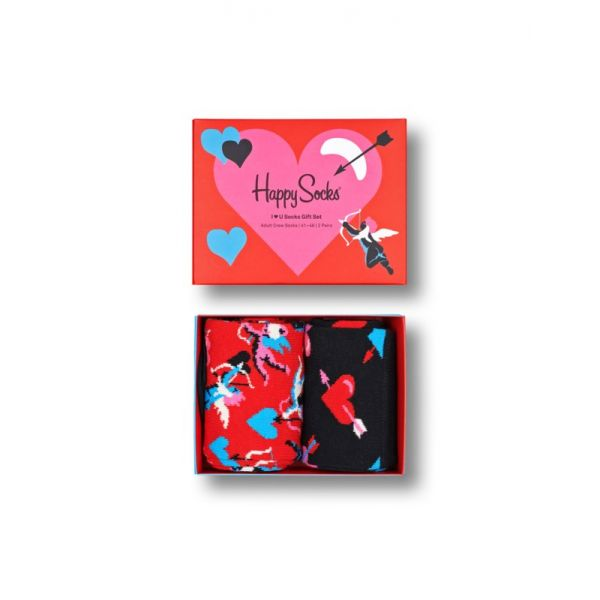 I Love You 2-pack gifbox | happy socks | sokken-online | 7333102453065