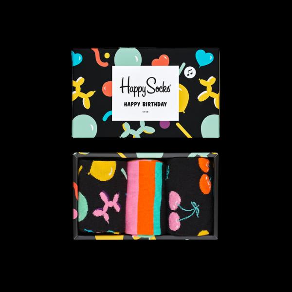 happy socks balloon music box