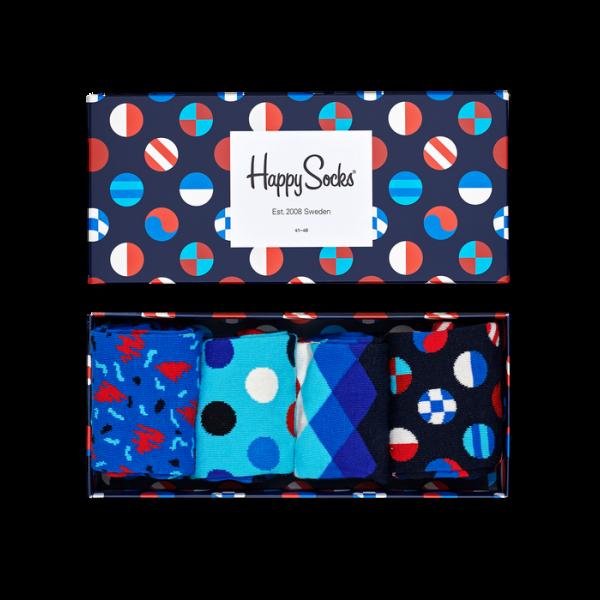 NAVY GIFT BOX   HAPPY SOCKS