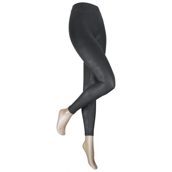 Crauquele leatherlook legging