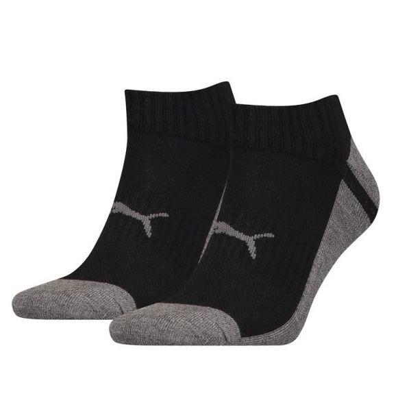 PUMA SNEAKER MULTI-SPORT 2P UNISEX MIDDLE GREY MELANGE | sokken online