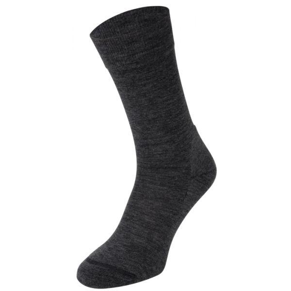 S13 VIP dunne merino wollen sokken met badstof zool