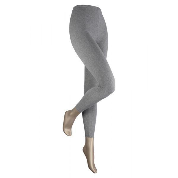 katoenen legging sarlini medium grijs