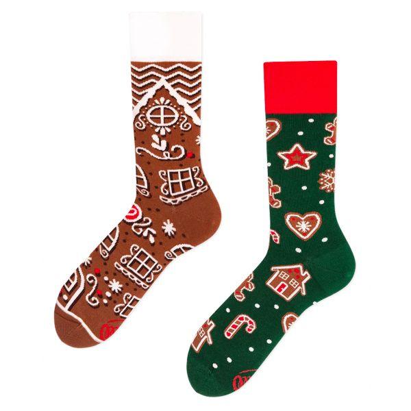 The gingerbread man sokken