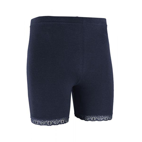 Short legging met kanten rand | Yellow Moon | sokken-online.nl