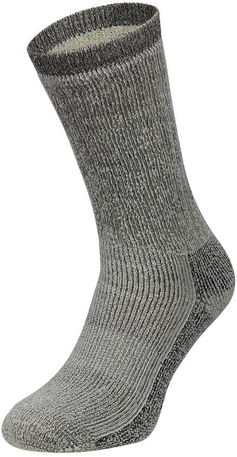Merino wollen sokken-43/45-Antraciet