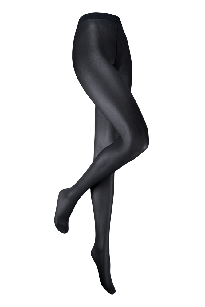 35 denier panty met glans-L/XL-Marine