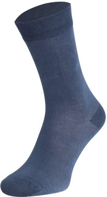 Bamboe sokken -Medium blue-46/47