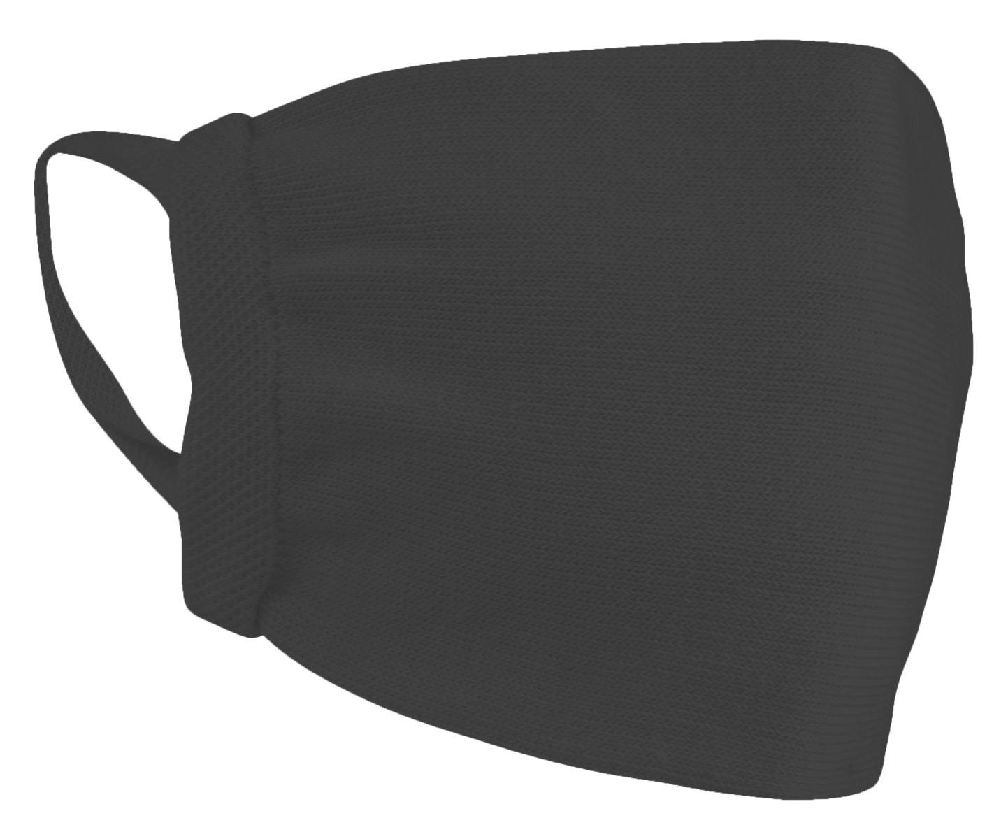 Mondkapjes katoen wasbaar-Black