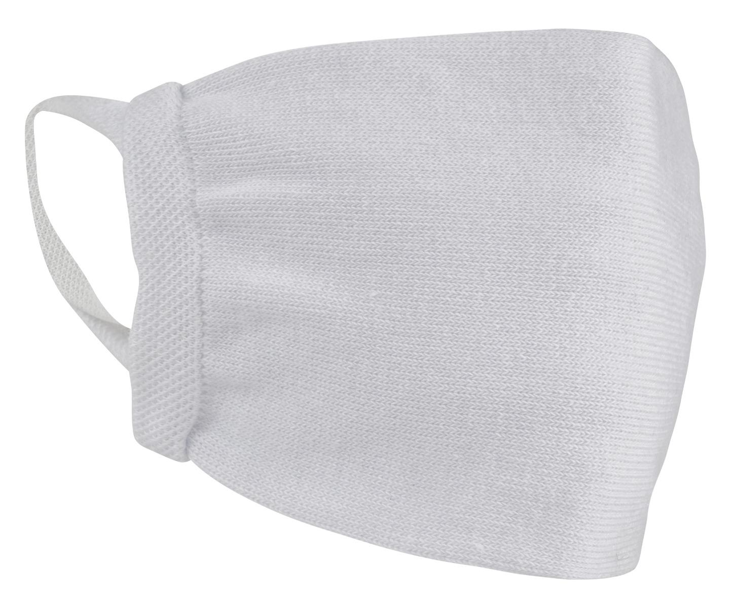 Mondkapjes katoen wasbaar-White