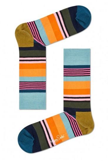 Happy socks met multi strepen-41/46