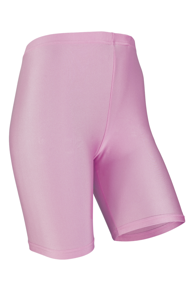 Dames short legging shiny-Pastel lilac-XXL