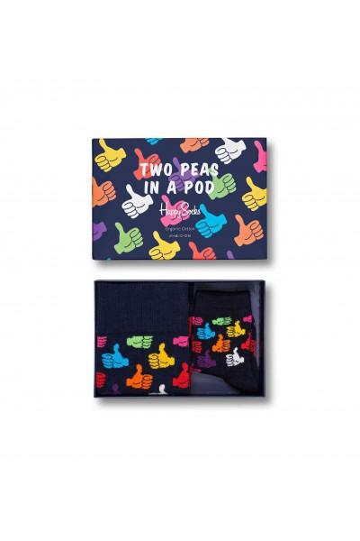 Happy socks 2 Peas In A Pod Gift Box-36/40