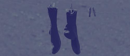 4 tips voor het wassen van je sokken!
